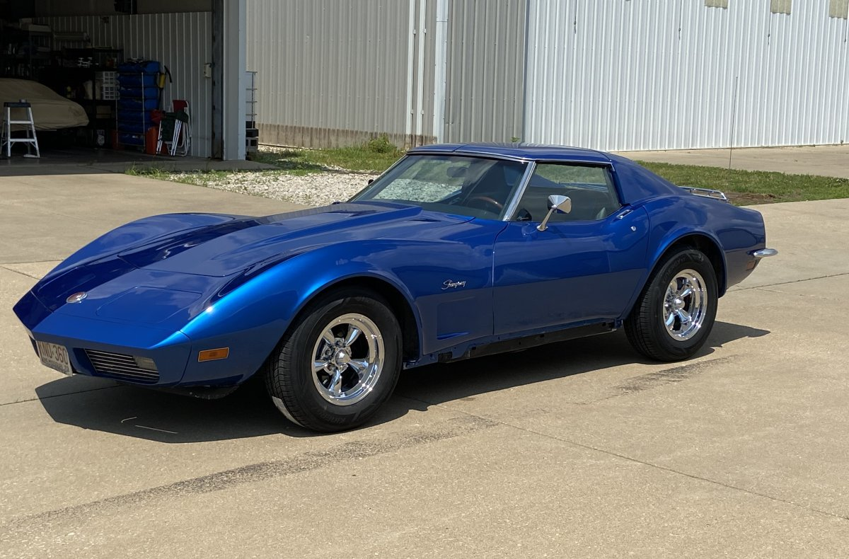 1973 Corvette with Torq Thrust D Package