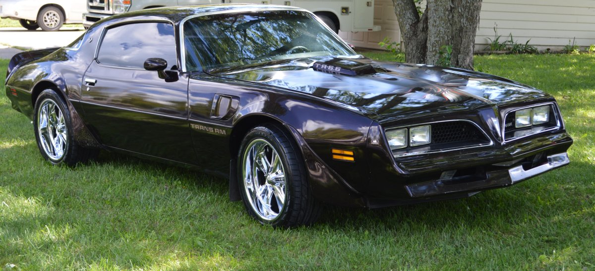 1977 Trans Am with Foose Knuckles