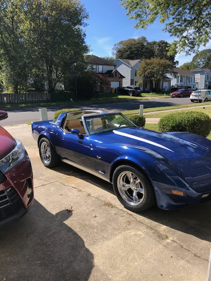 1979 Corvette with Torq Thrust II Package