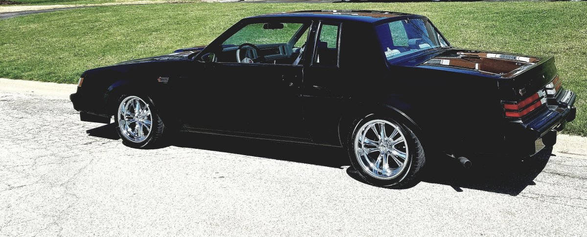 Niche Road Wheels >> 1987 Buick Grand National with Foose Chrome Knuckle Wheels