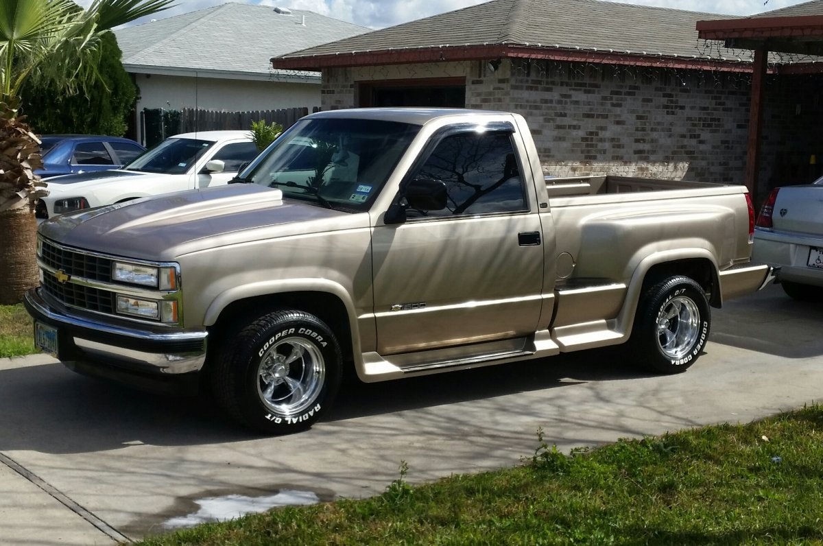 1993 Chevy Silverado with 15x10 Torq Thrust II's