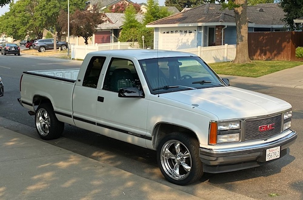 1993 Sierra with Torq Thrust Package