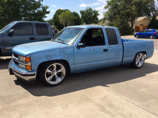1997 Chevy Silverado Extended Cab With Torq Thrusts