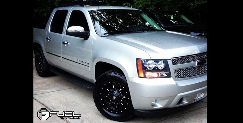Chevrolet Avalanche For Sale >> Custom Wheels for Chevy Avalanche on Sale