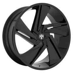 Fade 24x10 Gloss Black 5x150 Bolt Pattern 35mm Offset