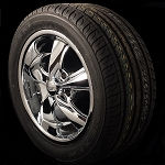 Foose Legend 17x7 5x4.5 Package