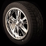 Foose Knuckle Wheel & Tire Package