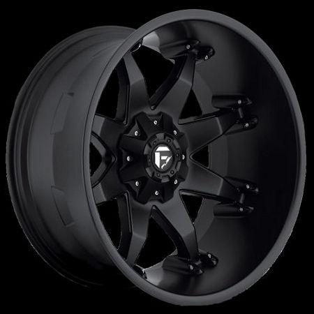 Fuel Flat Black D50920202647 Octane 20x12 5x4.5 - 5x5 ...