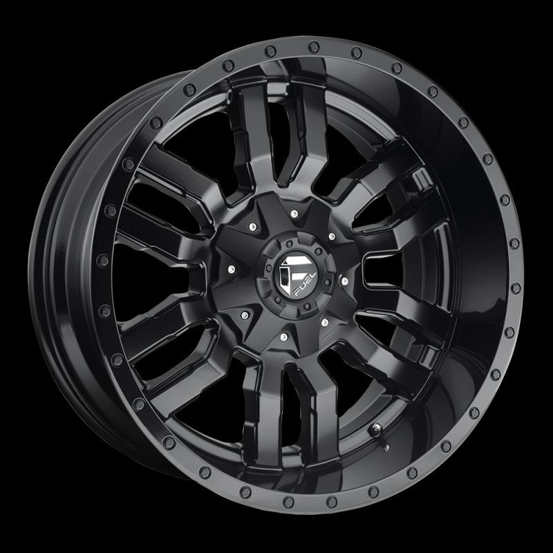 American Wheel And Tire >> Fuel Flat Black D59620001747 D596 Sledge 20x10 8x170 -18mm