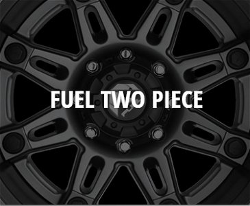 Fuel 2pc Wheels
