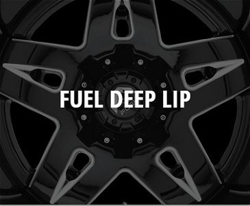 Fuel Deep Lip Series Wheels