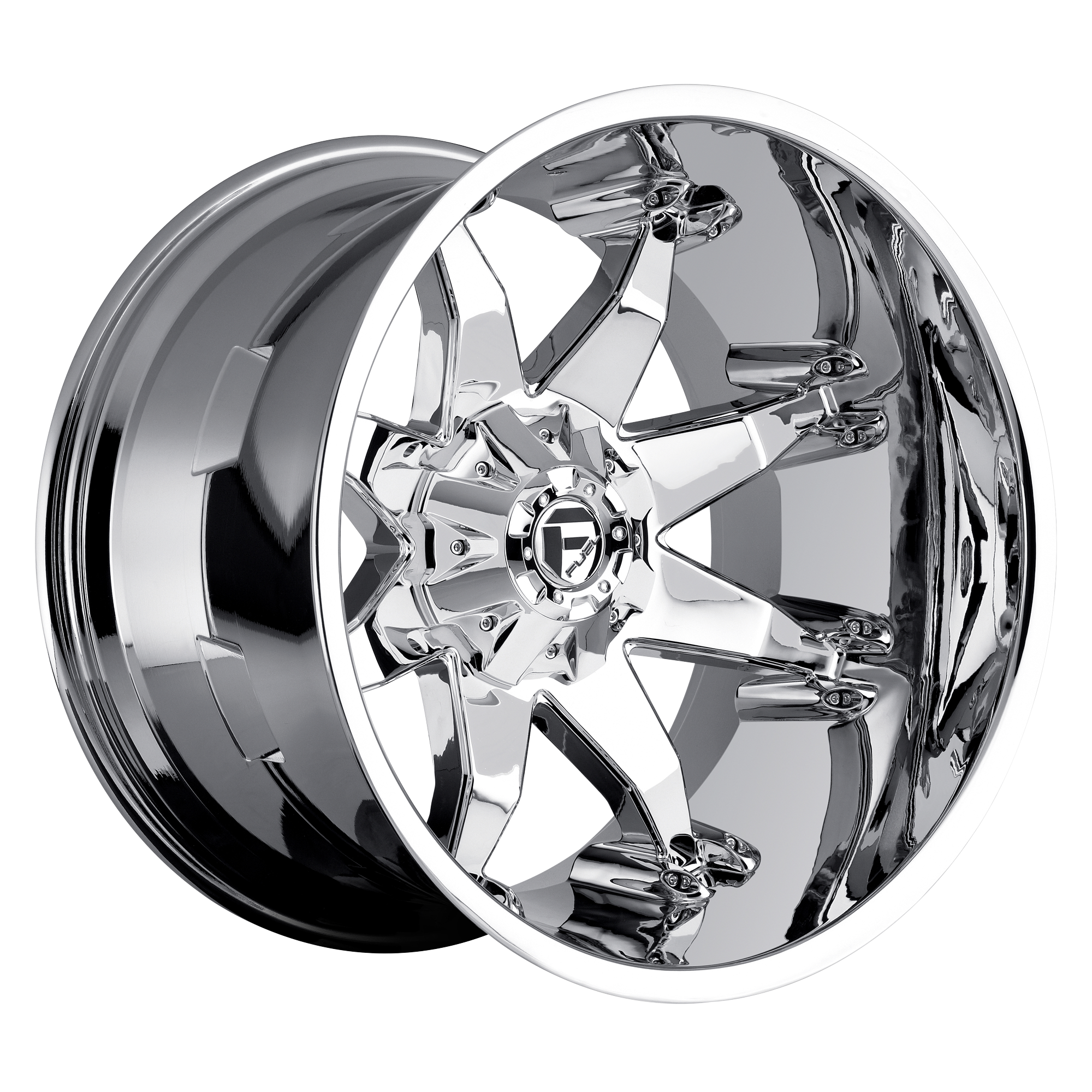 20x12 Chrome Octane 6/5.5 - 6/135  -44MM Offset