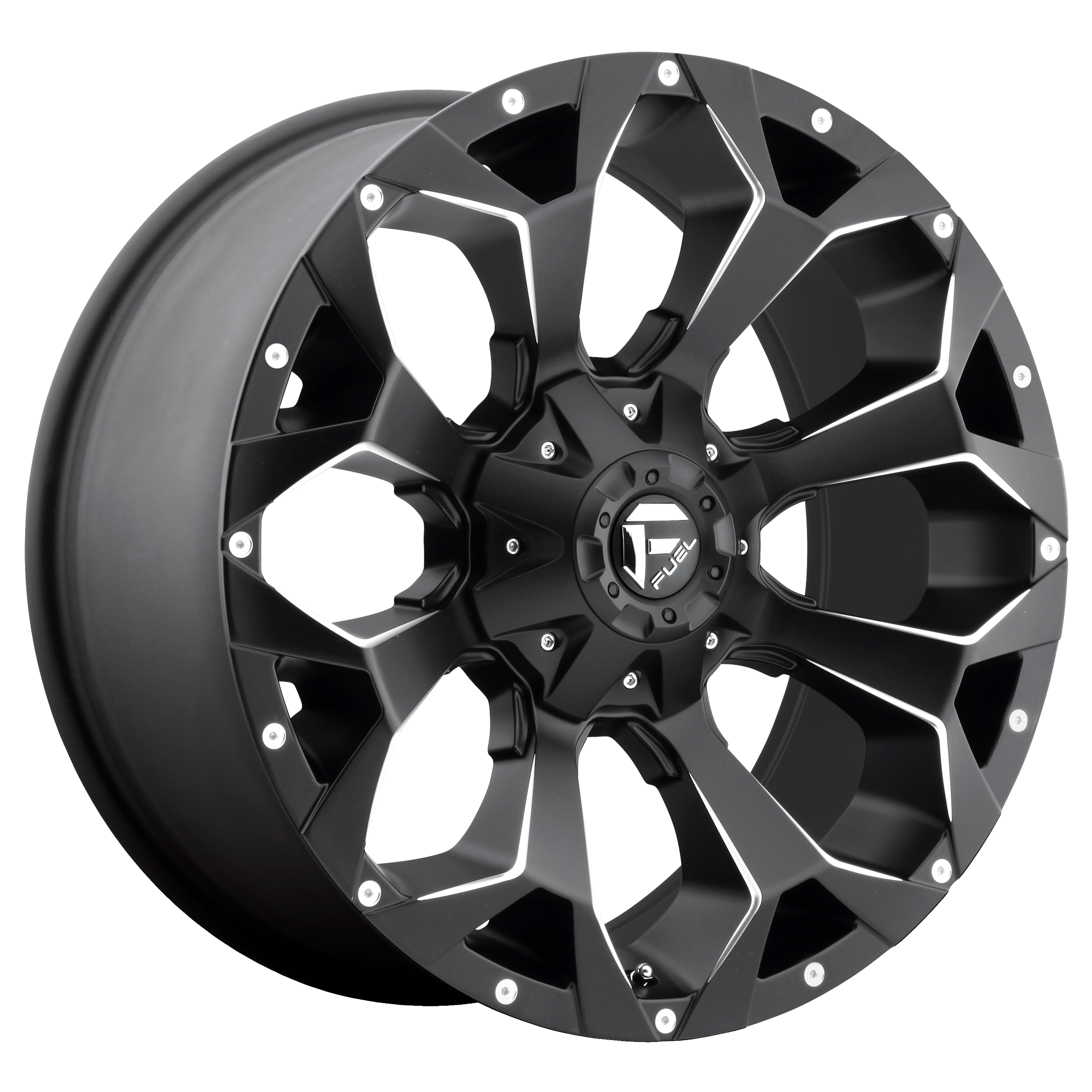 Assault Matte Black 22x12 5x5.5, 5x150 -44mm