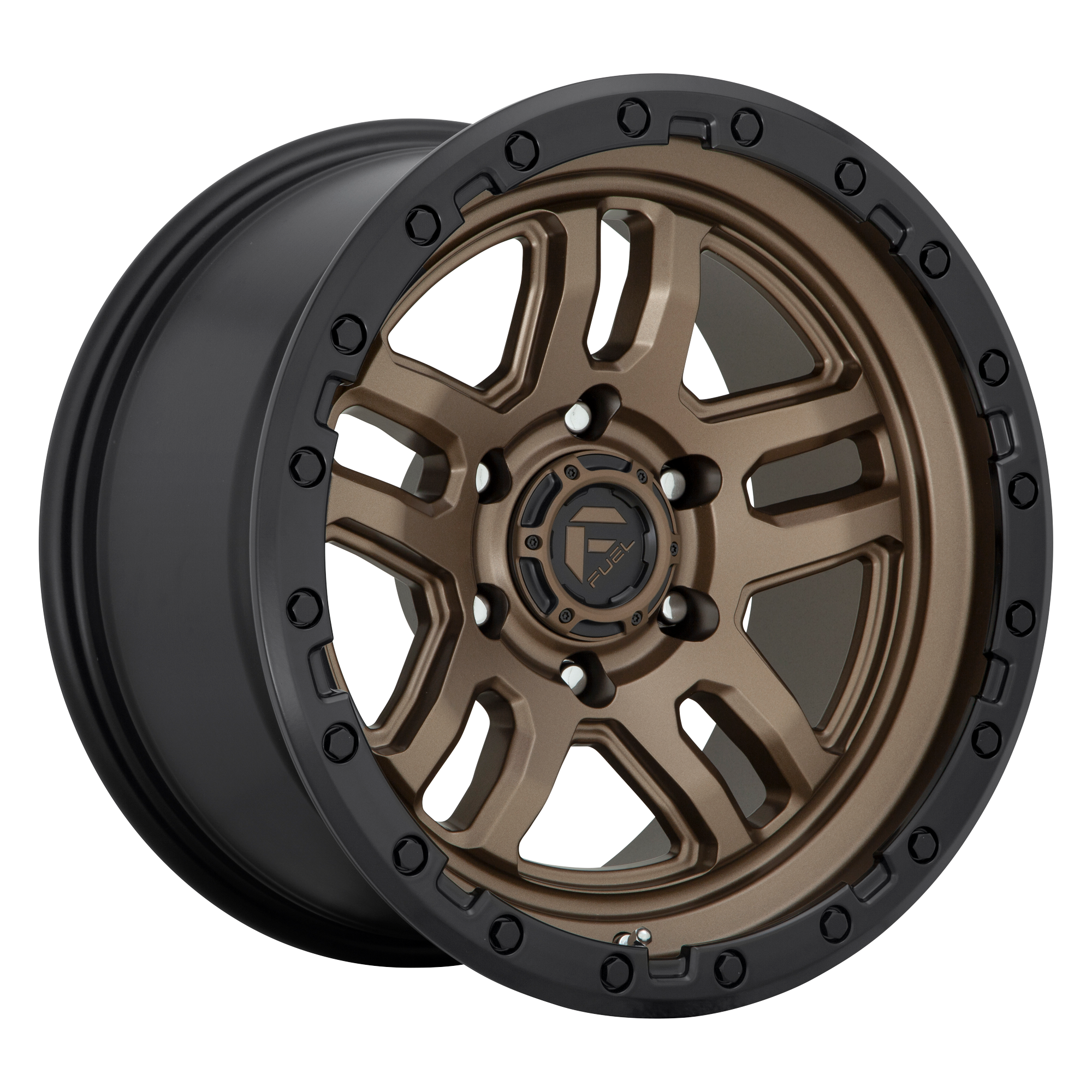 Ammo 17x9 Matte Bronze Black Bead Ring 6x135 Bolt Pattern -12mm Offset