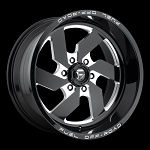 D582 Turbo 20x10 6x139.7 (6x5.5)  -18mm