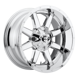 Maverick 20x9 Chrome Plated 6x120, 6x139.7 (6x5.5) Bolt Pattern 19mm Offset