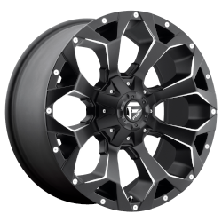 Assault Matte Black 17x8.5 5x4.5, 5x5.0 +14mm