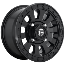 Tactic 16x8 Matte Black 6x139.7 (6x5.5) Bolt Pattern 1mm Offset