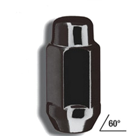 Gorilla Black Chrome Lug 20 Pack