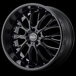 HE890 20x8 5x4.5 Satin Black (32MM Offset)