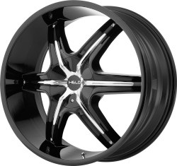 HE891 20x8.5 5x4.5/5x120 BLACK (35MM Offset)
