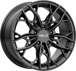 HE907 16x7 5x114.30 Gloss Black (38 mm)
