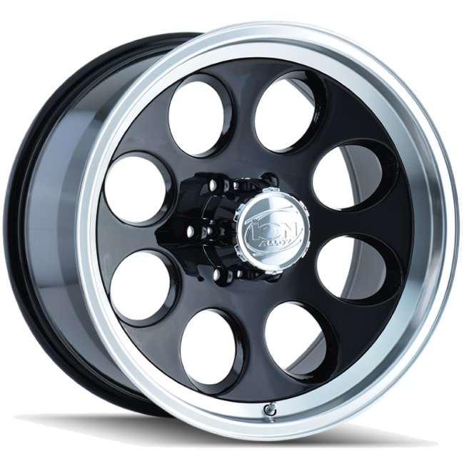 Black 171 15x10 5x4.5 -38MM Offset