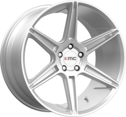 Prism 20x10.5 Brushed Silver 5x114.3 (5x4.5) Bolt Pattern 35mm Offset