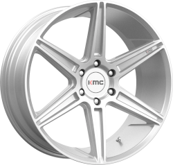 Prism Truck 22x9.5 Brushed Silver 5x120 Bolt Pattern 30mm Offset