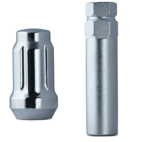 Chrome Spline Drive Lug 12mmx1.50