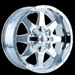 Tank Chrome 17x9 5x4.5, 5x5.0 -12mm