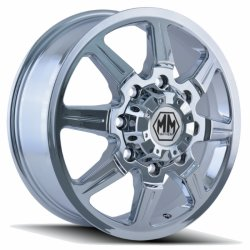 MONSTIR 8101 FRONT CHROME 22x8.25  8x200  +127mm Offset