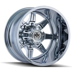 MONSTIR 8101 REAR CHROME 22x8.25  8x200  -160mm Offset