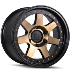 PRODIGY 8300 MATTE BLACK W/ BRONZE TINT 17x9  6x120  -6mm Offset