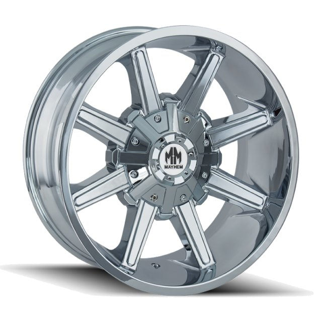 ARSENAL 8104 CHROME 17x9  6x135, 6x139.7  -12mm Offset