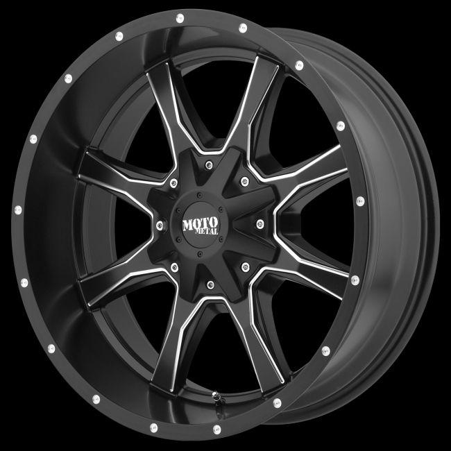 Mo97089035918 Moto Metal 970 18x9 5x5 5x5 5 18mm