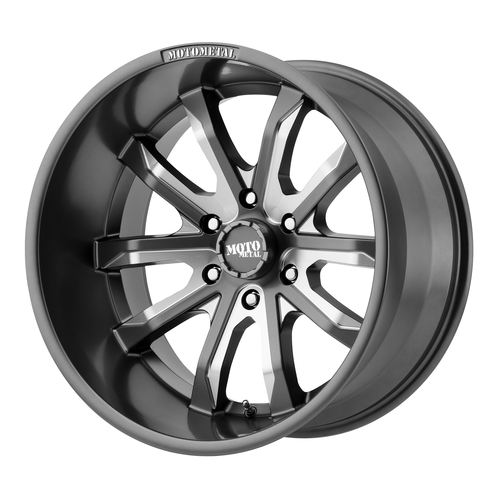 MO983 Dagger 20x9 6x139.7 Gray (-12 mm)