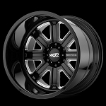 MO402 Forged Gloss Black and Milled