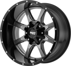 Moto Metal 970 Gray 20x12 6x5.5 - 6x135 -44mm