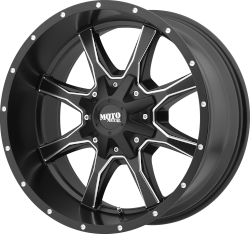 Moto Metal 970 Black Milled 20x12 6x5.5 - 6x135 -44mm