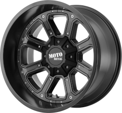 MO984 Black Shift 20x9 Blank Drilled (18 mm)