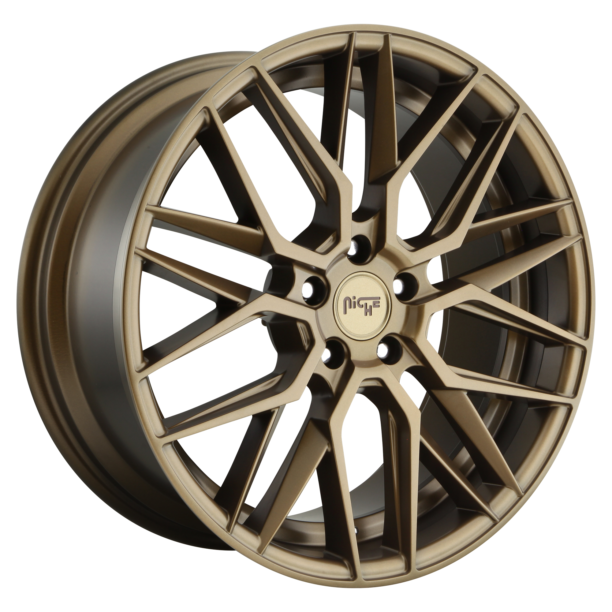Gamma 19x9.5 5x120 Matte Bronze (40 mm)