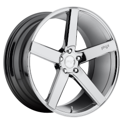 Milan 19x8.5 Chrome Plated 5x114.3 (5x4.5) Bolt Pattern 35mm Offset