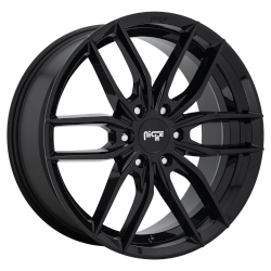 Vosso 20x9 6x132.00 Gloss Black (35 mm)