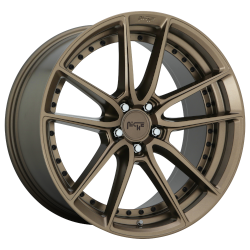 DFS 17x8 5x120 Matte Bronze (40 mm)
