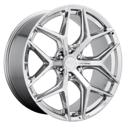 Vice SUV 24x10 6x139.7 (6x5.5) Chrome Plated (30 mm)