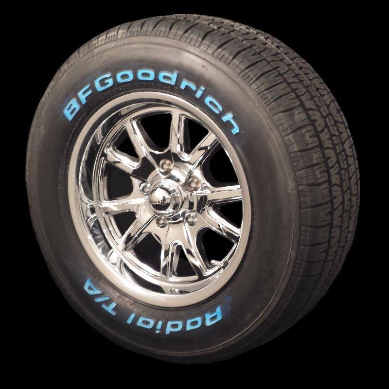 Niche Road Wheels >> Ridler Chrome 650 15x7 & 15x8 5/4.5 Package