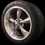 17x7 5x4.5 Gray Ridler 695 Package