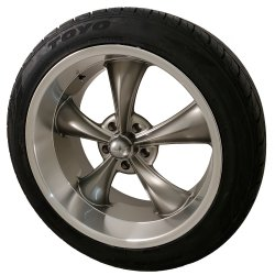 Gray 695 Wheel and Tire Packages