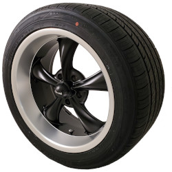 Black 695 Wheel and Tire Packages